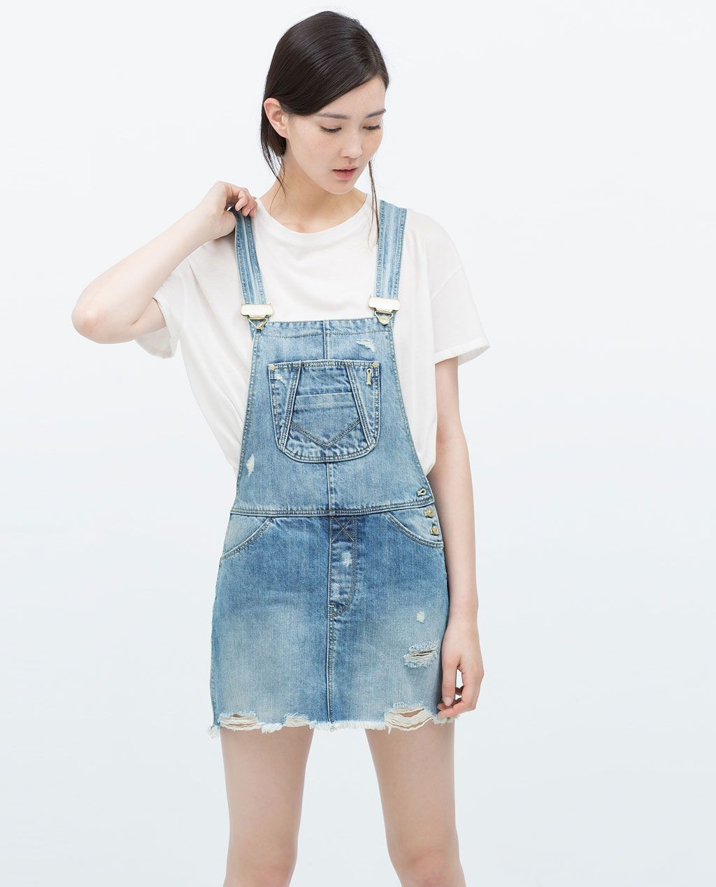 26bc8544e71 DUNGAREES WITH SKIRT-Jumpsuits-WOMAN-SALE
