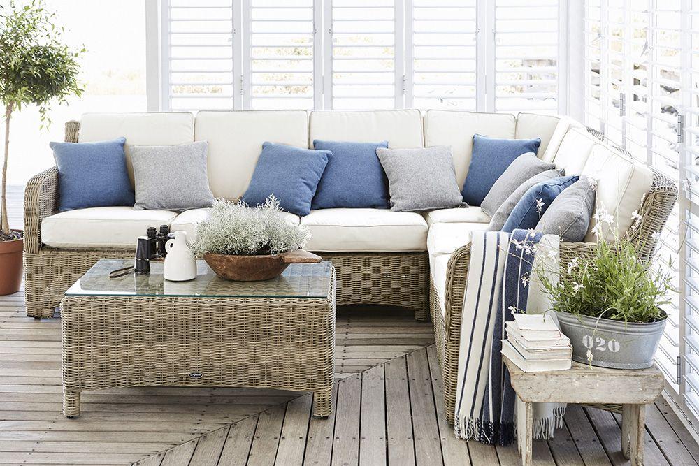 Murano modular sofa. #gardenroom #summer #insideandout #stripes ...