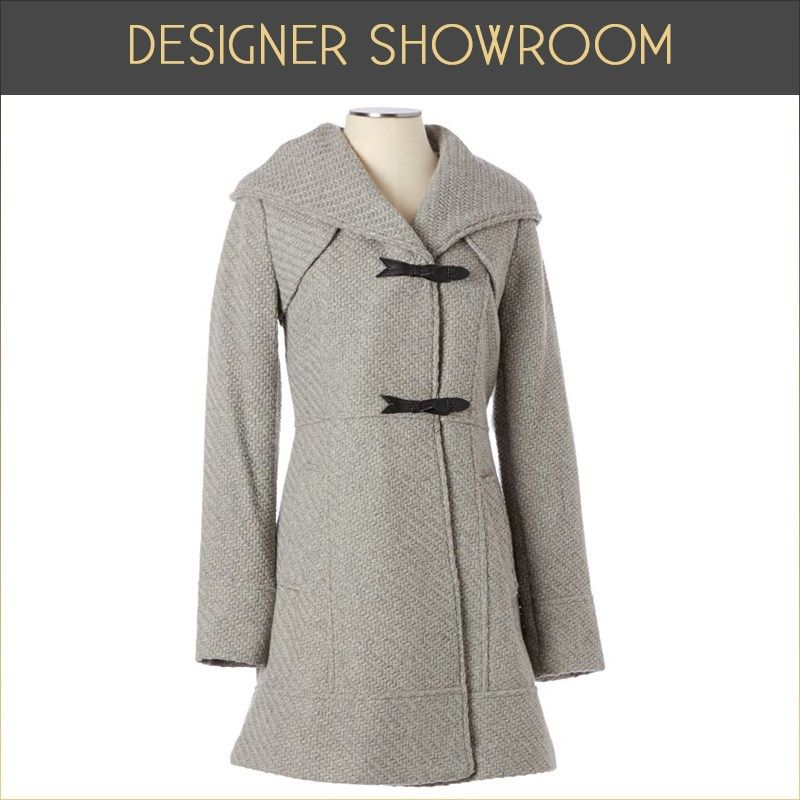 The perfect coat for navigating busy downtown streets- you ...