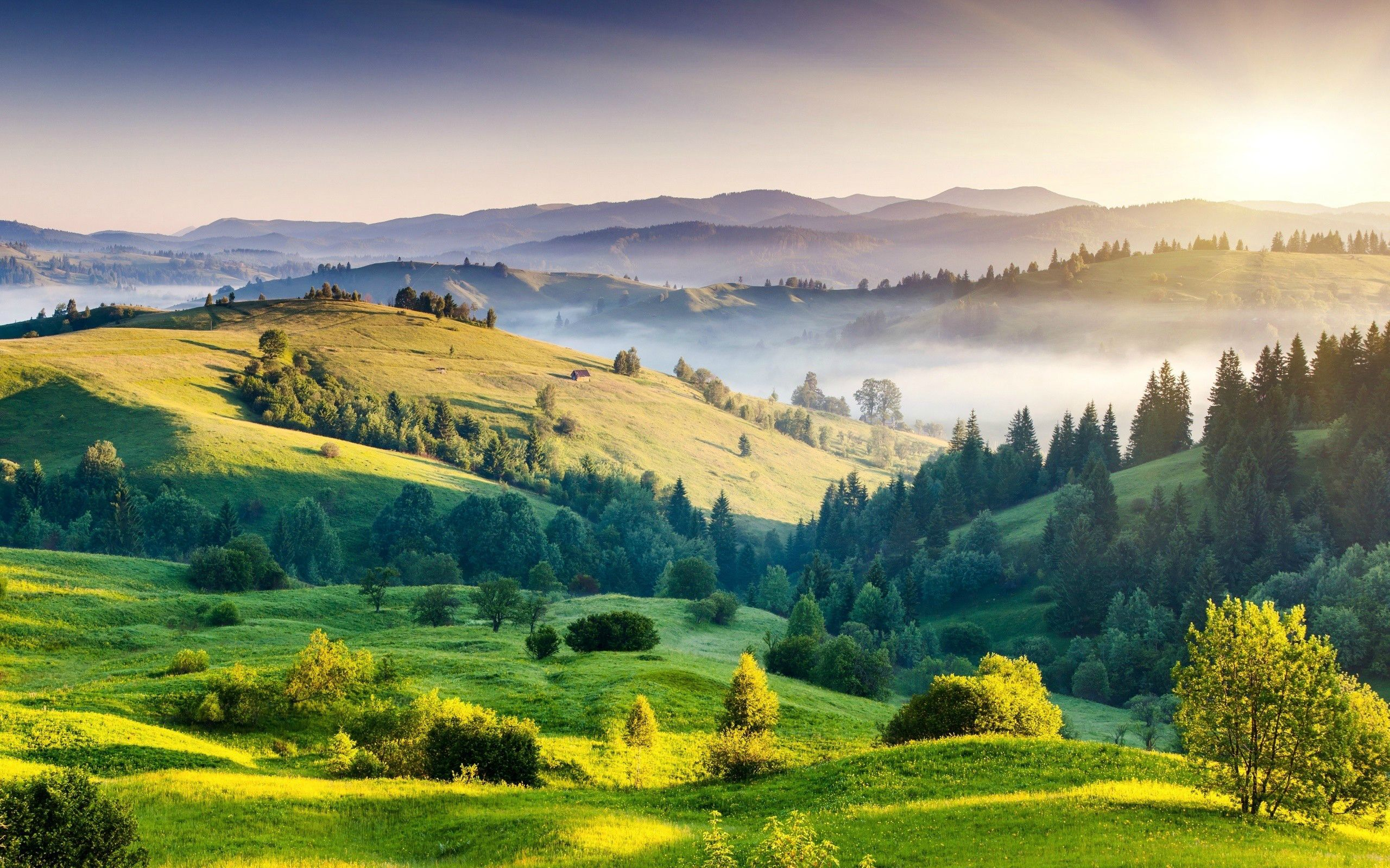 Wallpapers Tuscany Italia Beautiful Nature In Italy Hd Pics Sunrise Landscape Landscape Landscape Wallpaper