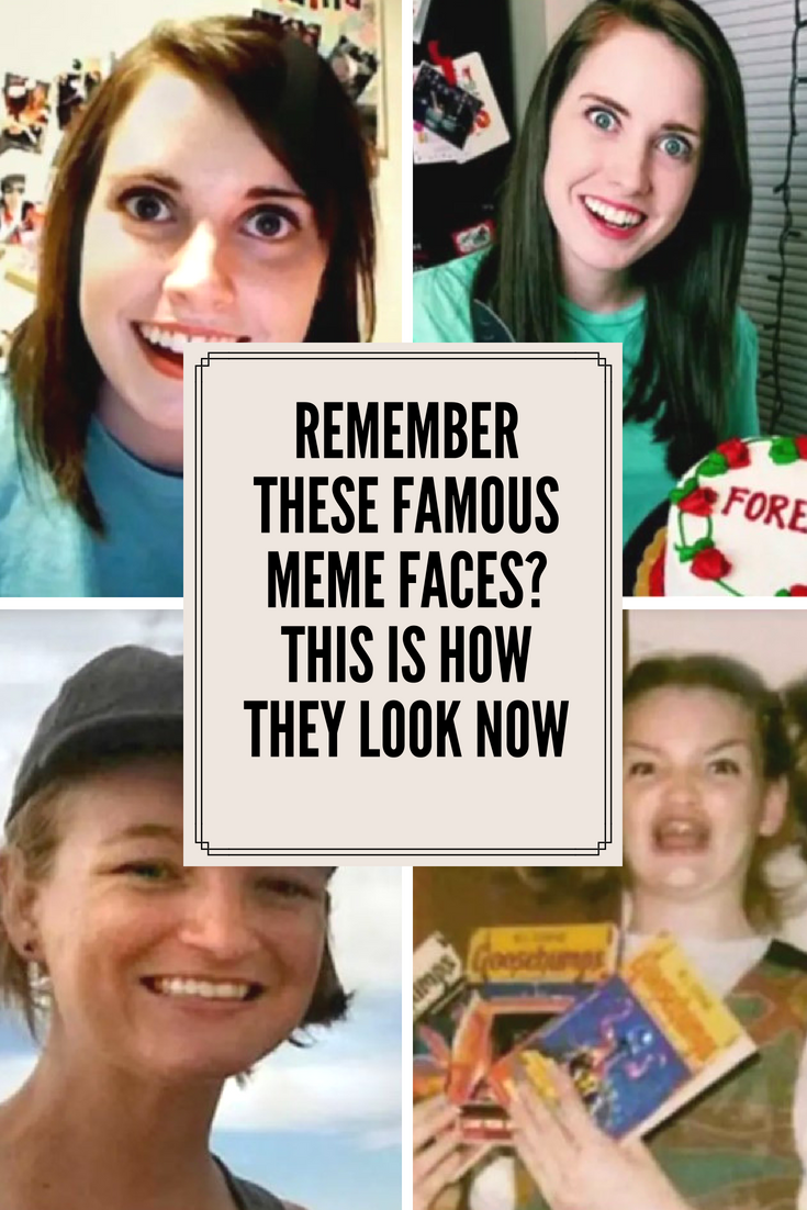 Remember These Famous Meme Faces This Is How They Look Now Famous Jokes Meme Faces Famous Memes