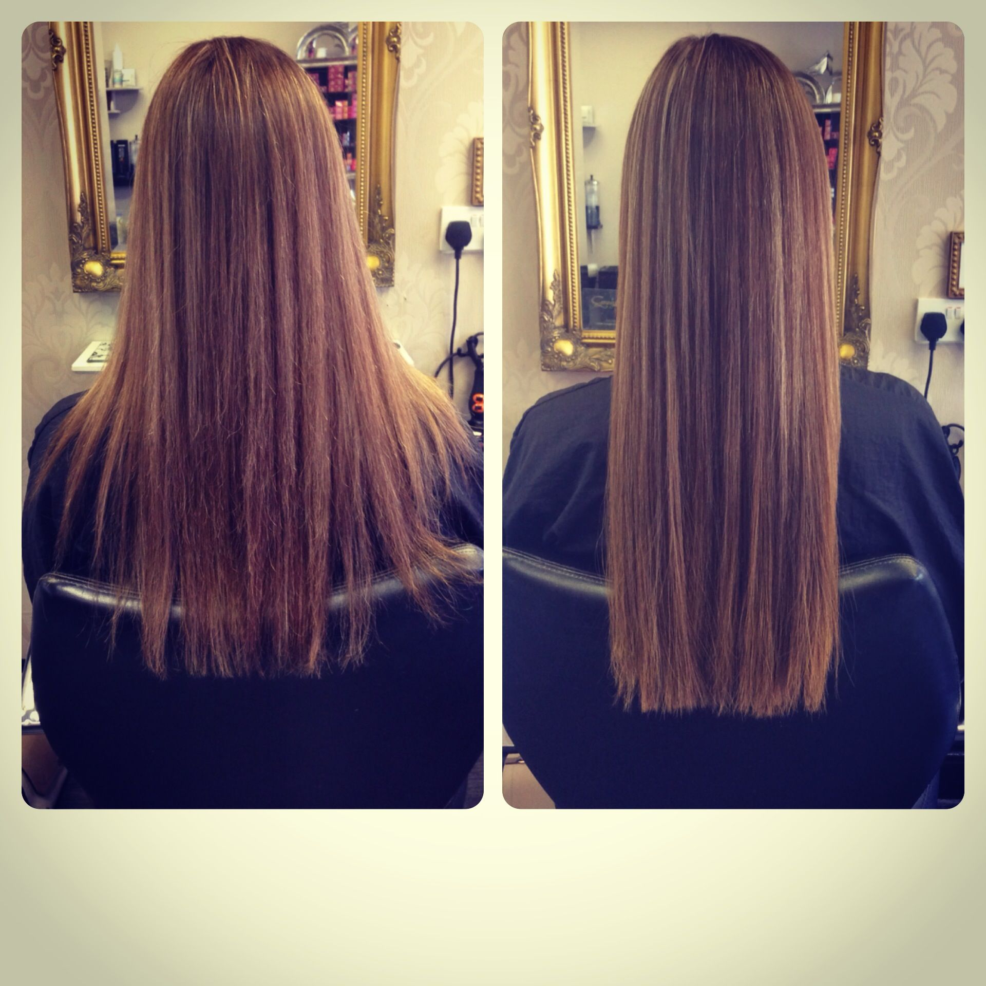 Half Head Of 16inch Great Lengths Extensions Fitted By Jodie From