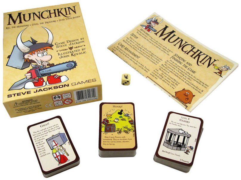 Never played Munchkin before, but I hear it's pretty great.