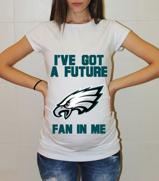 c16fdd3c6 IVE GOT A FUTURE PHILADELPHIA EAGLES SHORT SLEEVE FAN IN ME BABY MATERNITY  MATERNITY SHIRT FUNNY