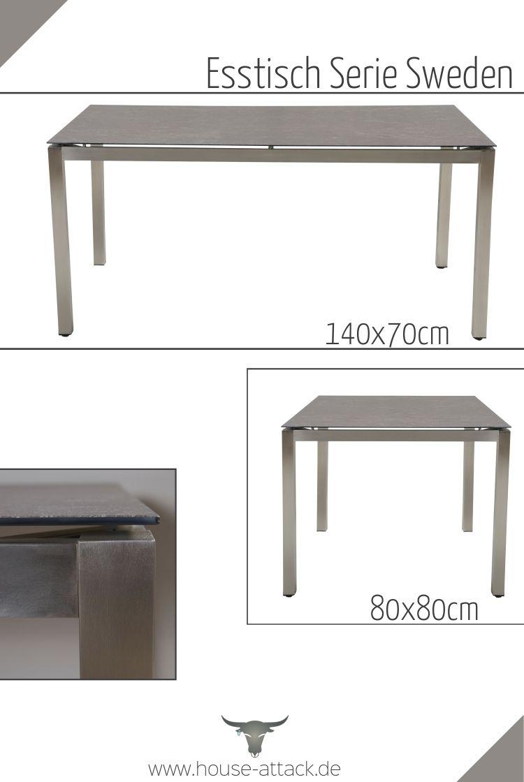 Esstisch Serie Sweden Stahltisch Gartentisch Esstisch