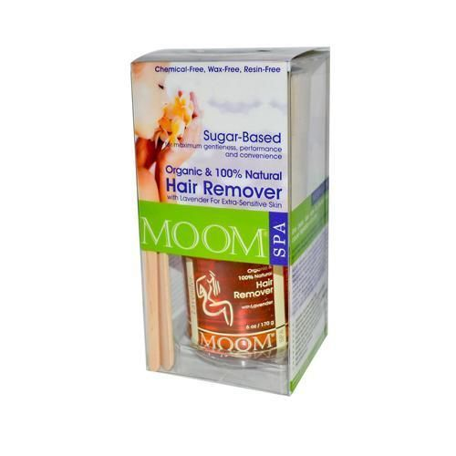 Moom Organic Hair Removal Kit With Lavender Spa Formula - 14 Kit ...