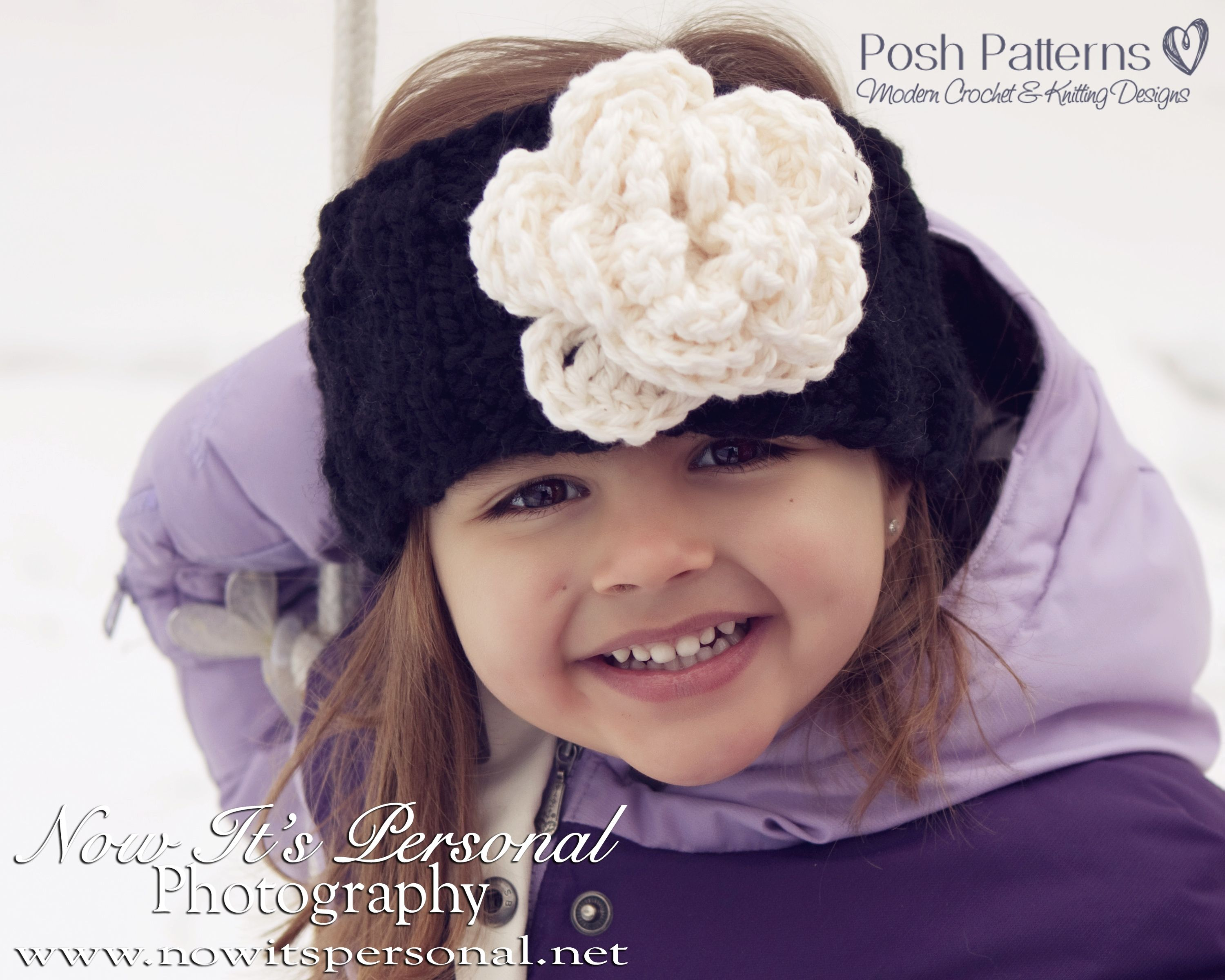 Knitting PATTERN - Knit Headband Pattern | Easy crochet patterns ...