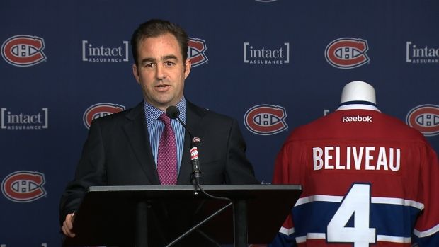 Montreal Canadiens president Geoff Molson.