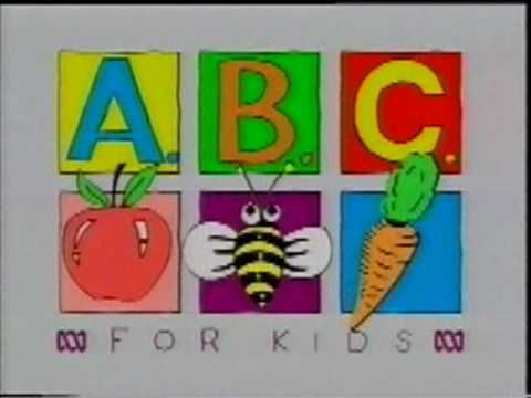 ABC For Kids Promotion (From Spooks And Surprises VHS) - YouTube