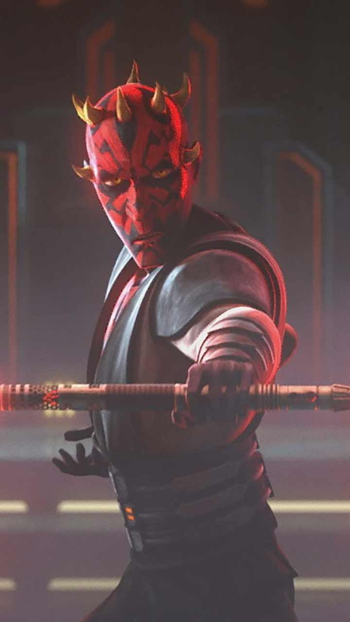The Clone Wars Wallpaper Hd Phone Backgrounds Season 7 Star Wars Logo Art Poster On Iphone Android In 2020 Star Wars Wallpaper Darth Maul Clone Wars Clone Wars