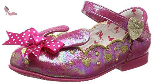Irregular Choice Bunny, Mary jane fille - rose - Rose, 31 EU Enfant -