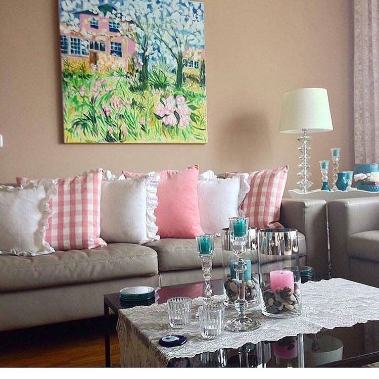 Hom Decor On Instagram ديكور ايكيا منزل صالات ضيافة بيتي ديكورات مجالس منازل ذوق Hom مطابخ Pink Decor Home Decor Home