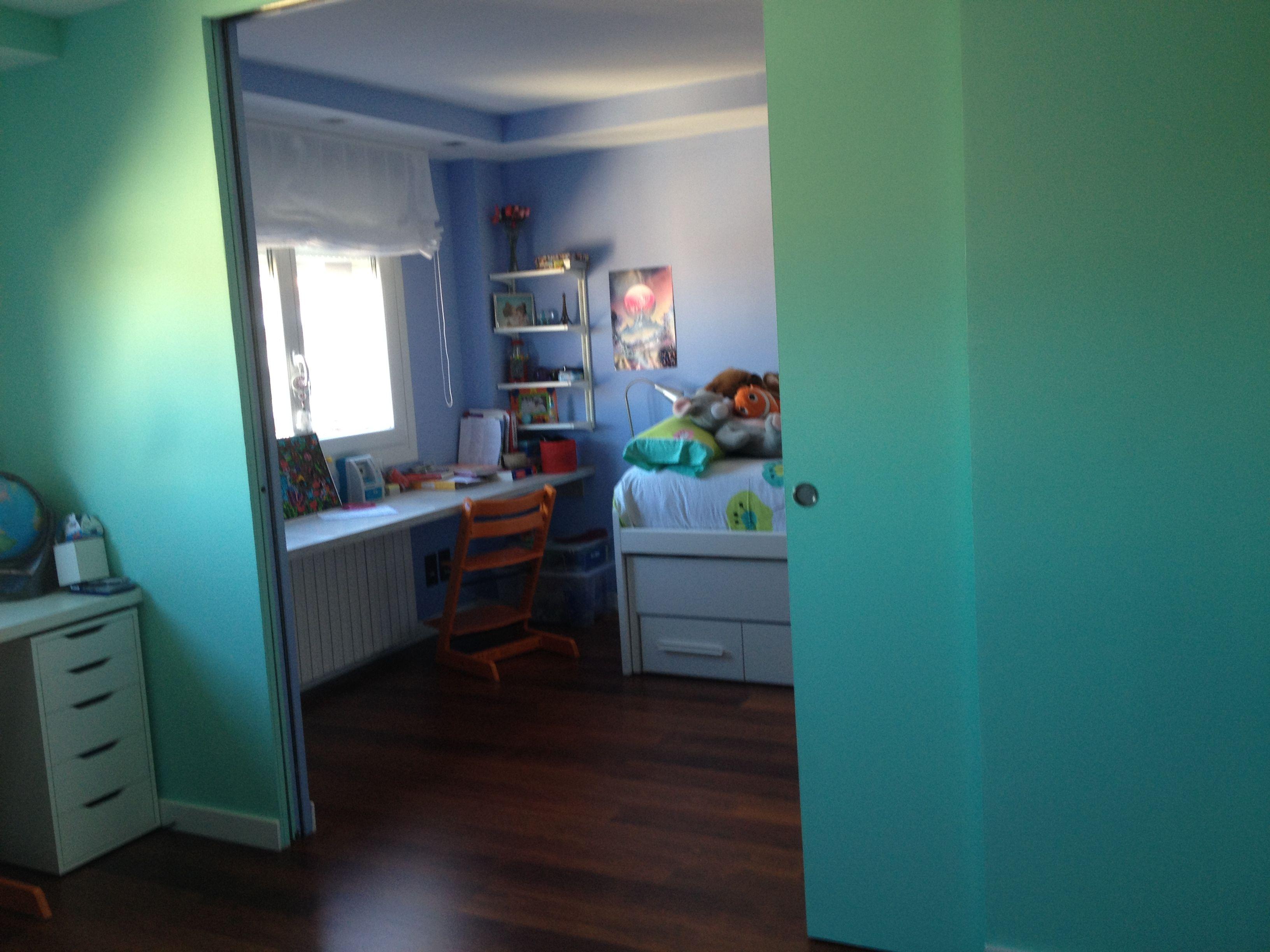 Puertas correderas para separar habitaciones infantiles - Carteles para puertas habitaciones ...