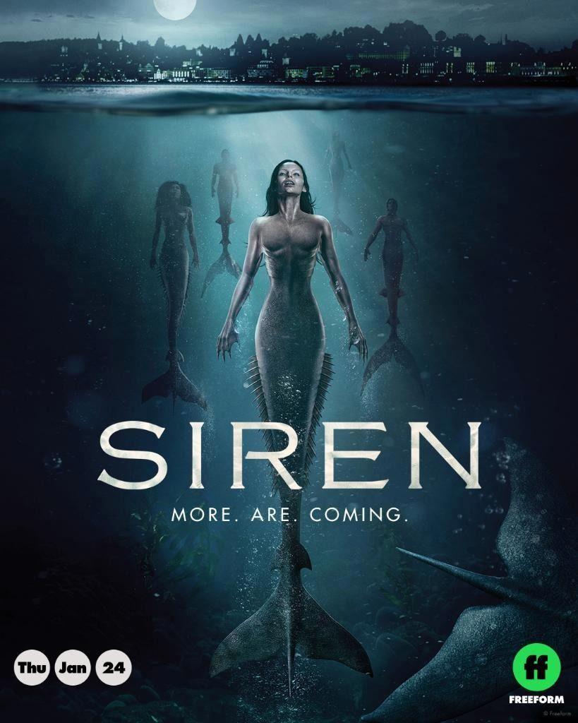 Erstes Poster Zur 2 Staffel Von Siren Die Am 24012019