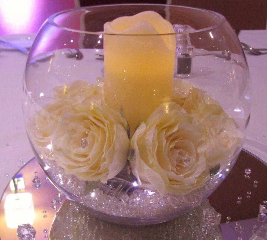 Fish Bowl Wedding Centrepiece Ideas: Wedding Centerpieces, Wedding