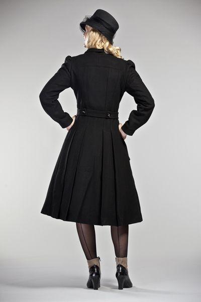 5c66343446c4 Cappotto ampio Stile anni 50 Vintage
