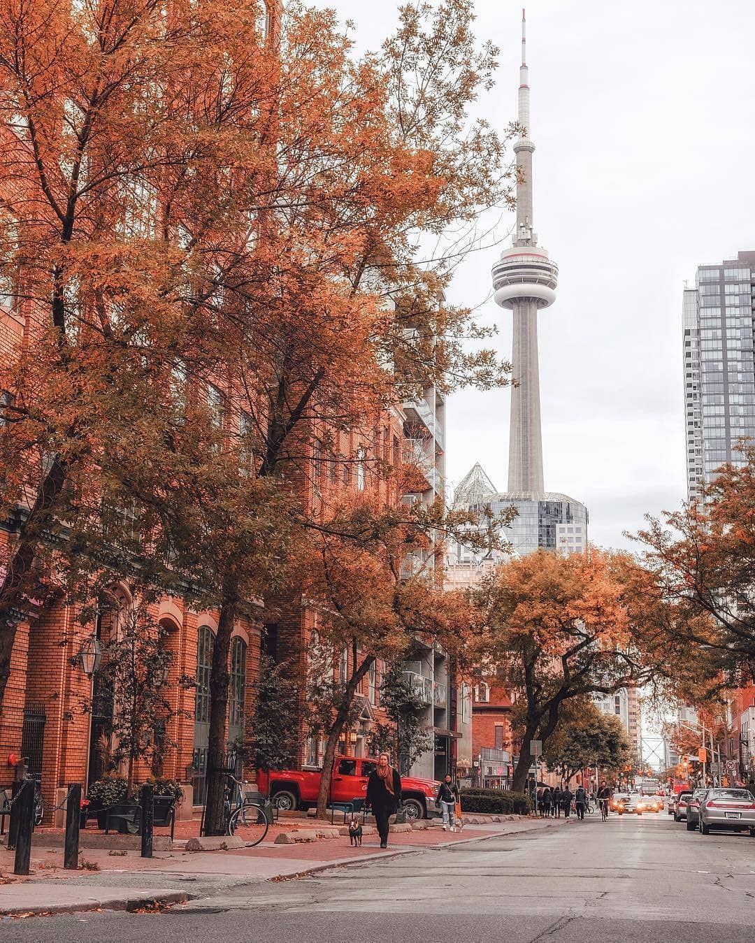 ", Love Toronto 💙 on Instagram: ""Can't get enough of beautiful fall days like this. 👌🍁💛 Photo by @arjsun."", My Travels Blog 2020, My Travels Blog 2020"