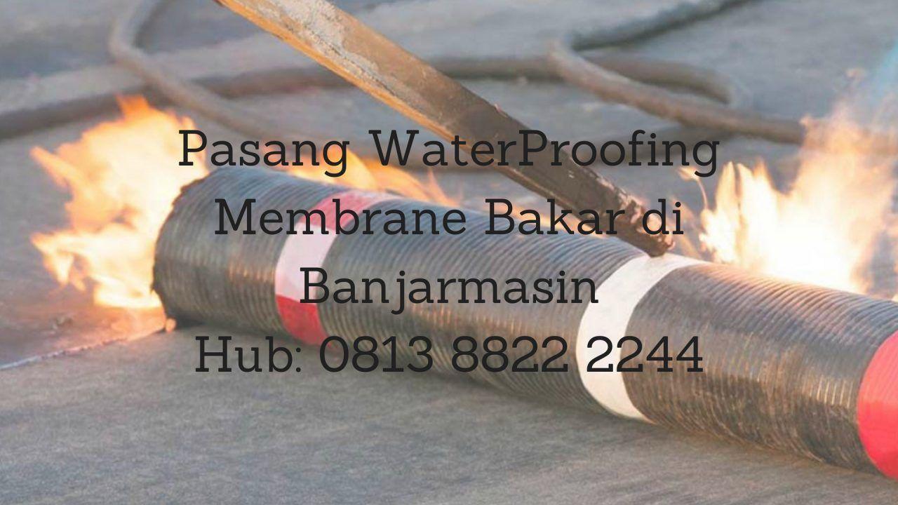 Kami Aplikator Dan Distributor Membran Aspal Bakar Menerima Pemasangan Menjual Waterproofing Membrane Dengan