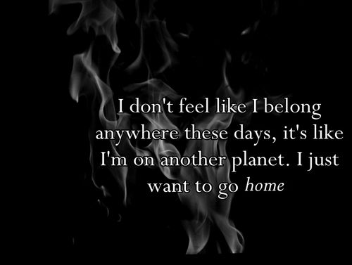 I Just Want To Go Home Quotes Modern Green House
