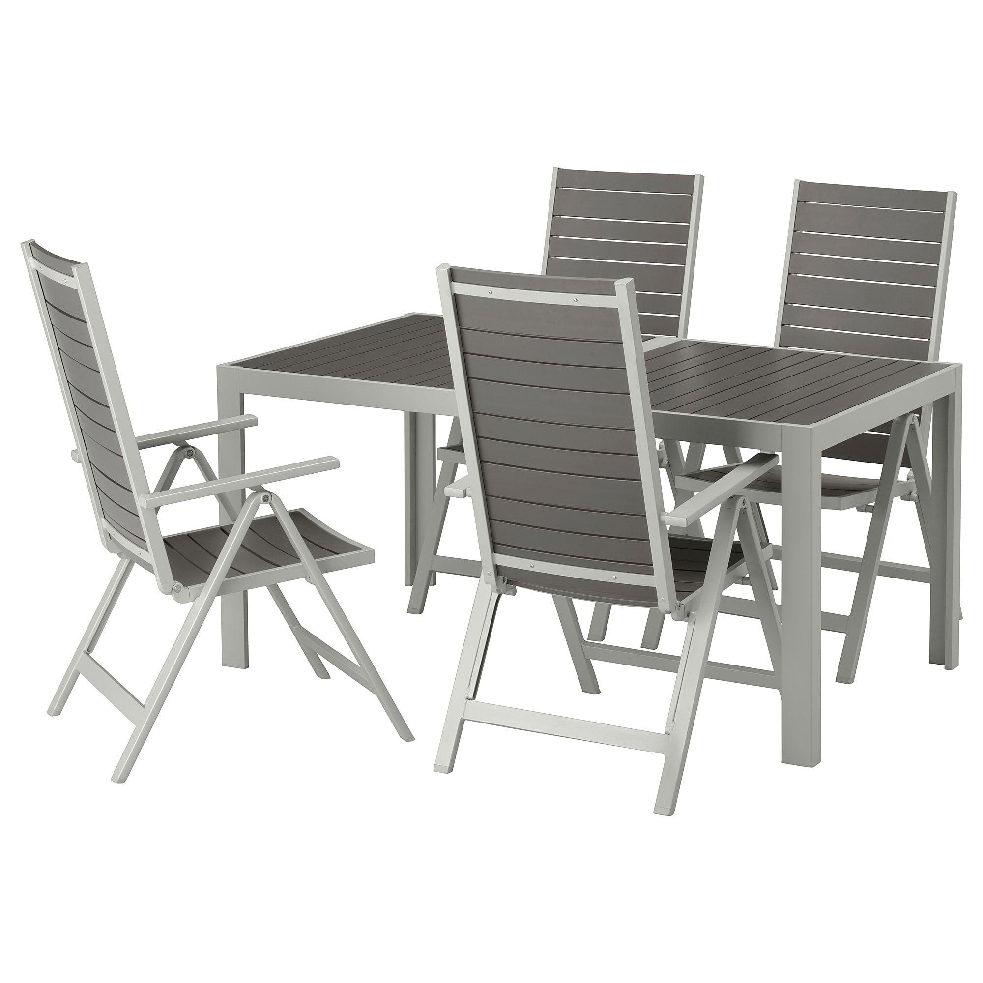 Sjalland Outdoor Dining Sets Ikea Mit Bildern Relaxliege