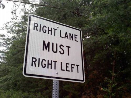 Confusing Road Sign Funny Road Signs Funny Signs Funny Quotes