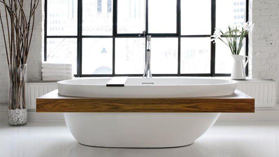 Todas las claves para elegir la bañera más adecuada para tu baño - https://decoracion2.com/elegir-la-banera/ #Bañeras_Antiguas, #Bañeras_De_Diseño, #Bañeras_Modernas
