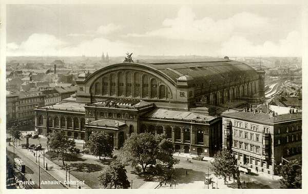 Anhalter Bahnhof Berlin Germany Cathedrals Of The