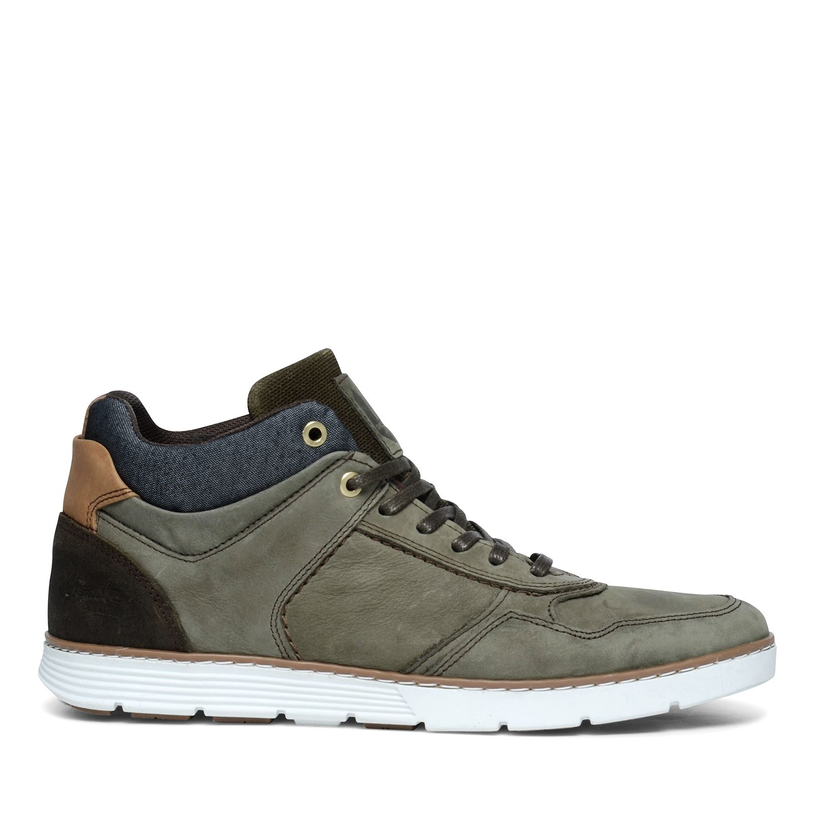 Hoge sneakers khaki - Herenschoenen - SACHA