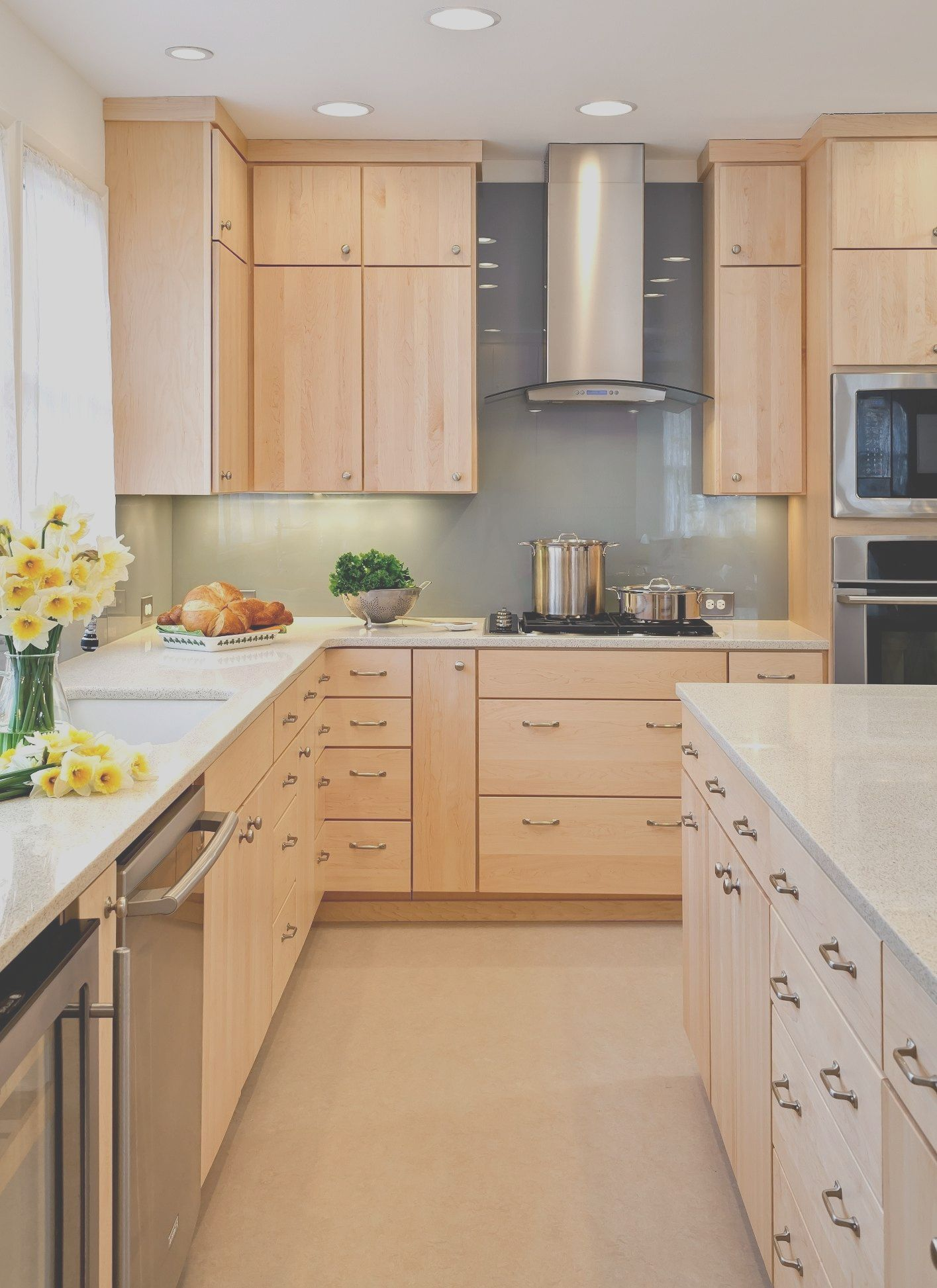 9 Amazing Natural Wood Modern Kitchen Cabinets Collection Contemporary Wooden Kitchen Modern Maple Kitchen Maple Kitchen Cabinets
