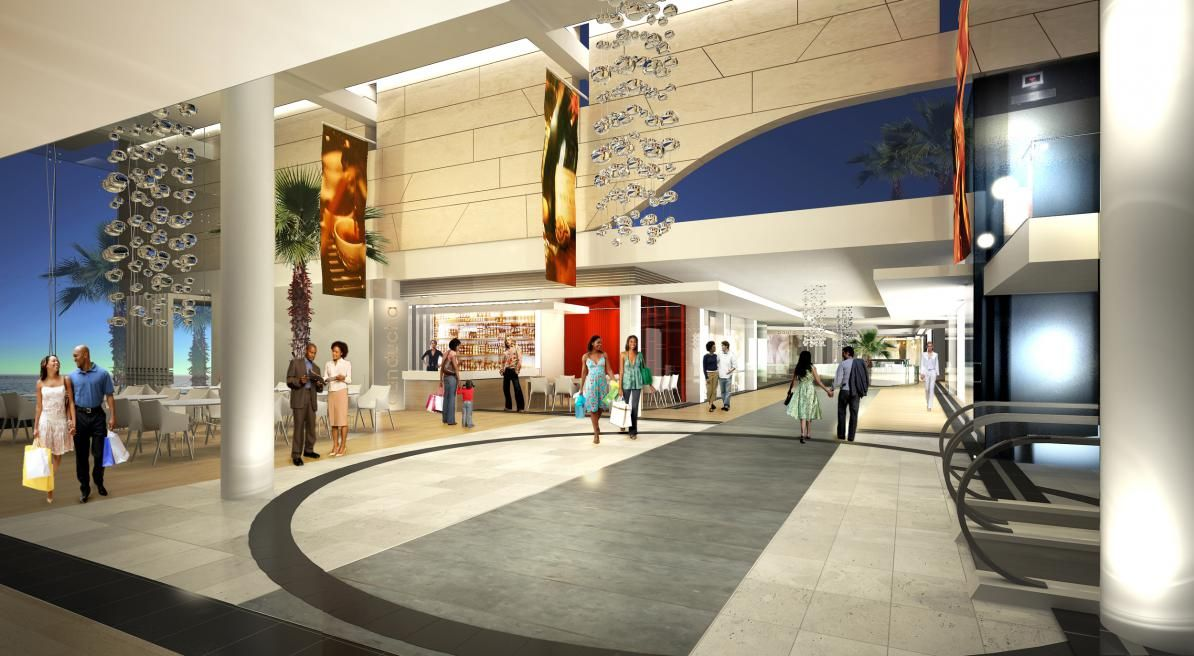 Sea Plaza Shopping Centre   Dakar Senegal