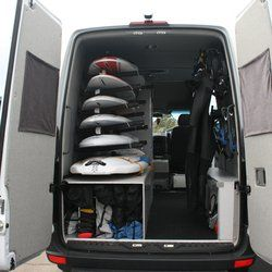sprinter van seats that fold into beds - Google Search