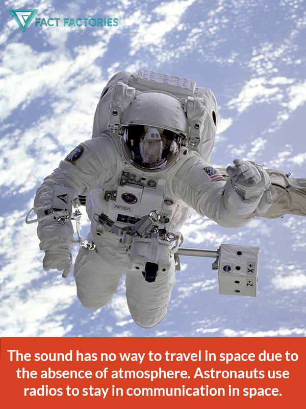 An interesting fact on why sound can't travel in space