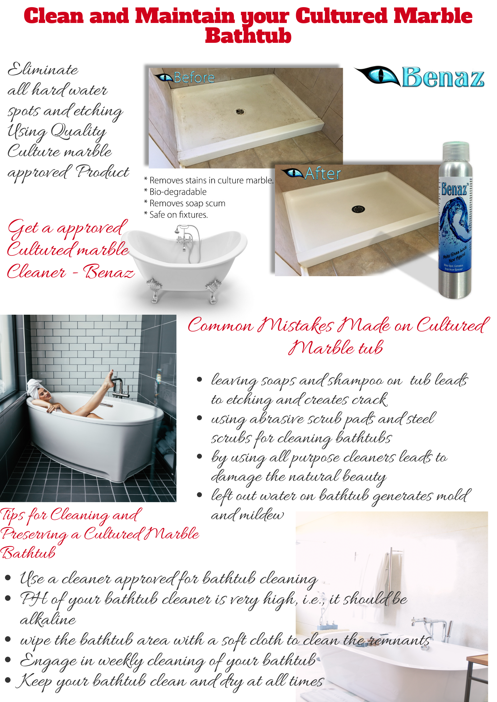 Best Bathtub Cleaning Tips To Maintain Your Cultured Marble Bathtub Bathtub Cleaning Tips Cultured Marble Marble Bathtub