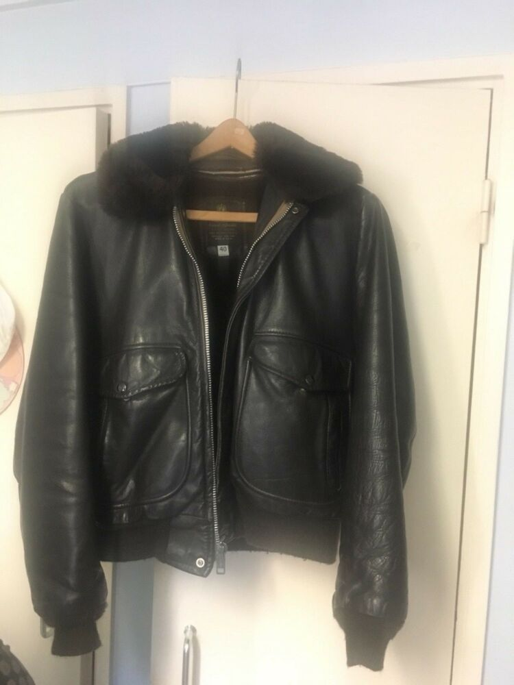 ec18a4f02 Great leather jacket Pilote lee cooper. Brown colour. The Great ...