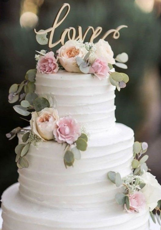 23 Rustic Wedding Cake Toppers for Any Country-Chic Event