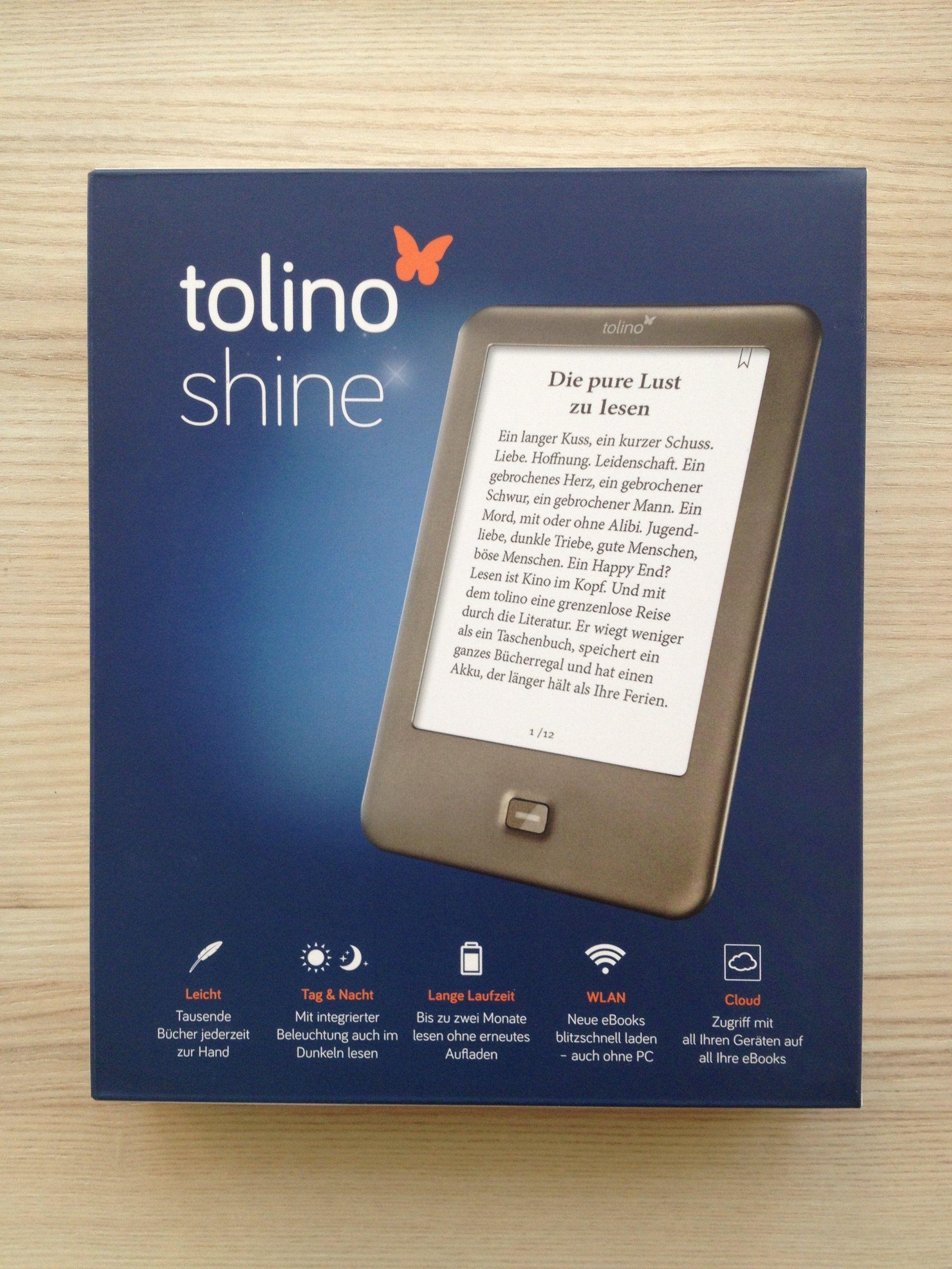 Tolino Shine Ebook Reader Amazon De Computer Zubehor Tolino E Reader Computer