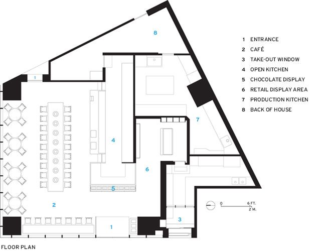 100 Chocolate Cafe Store Plan Cafe Floor Plan Interior Floor Plan