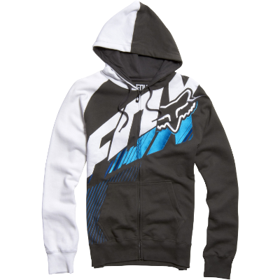 Fox Racing Honda Zip Hooded Sweatshirt Black | Fox racing