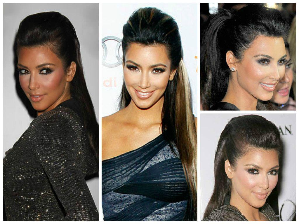 Kim Kardashian Hairstyle Ideas