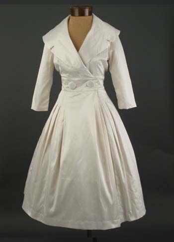 Trashy Diva 50s New Look Style Antique White Bridal Coat