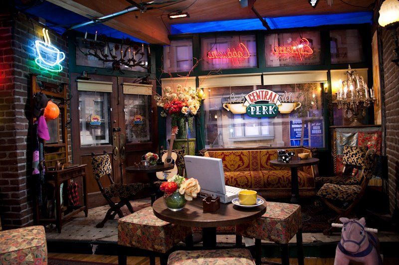 Central Perk Studio Tour Event Design Inspiration Warner Brothers Studio Tour