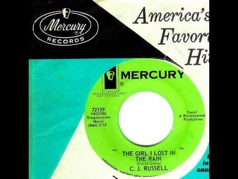"""▶ C.J. Russell (Leon) - """"The girl I Lost In The Rain"""" (Gold Star Studio) (1963) - this sickeningly rare 45 released in July of 1963 is the voice of 'Wrecking Crew' pianist and 2011 'Rock & Roll Hall of Fame' inductee."""