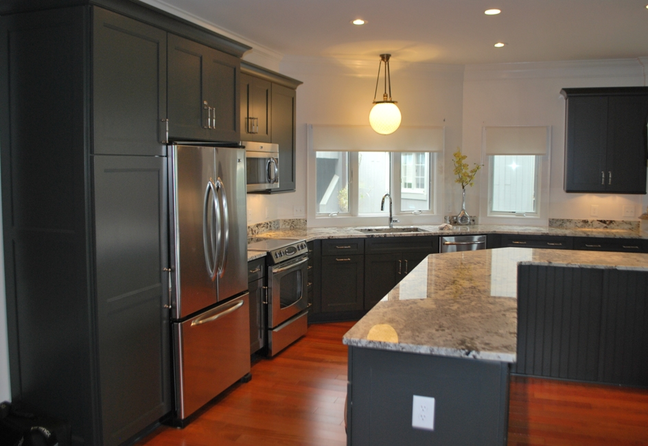 graphite color kitchen cabinets - Google Search | Kitchen ...