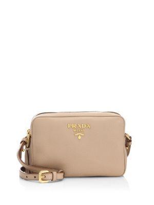 c1c0ab532 PRADA Daino Crossbody Camera Bag. #prada #bags #shoulder bags #leather # crossbody #lining #