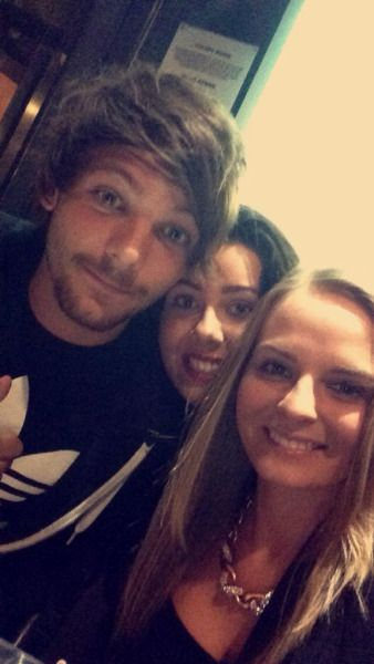 Louis in Doncaster today (: (4/9/15)