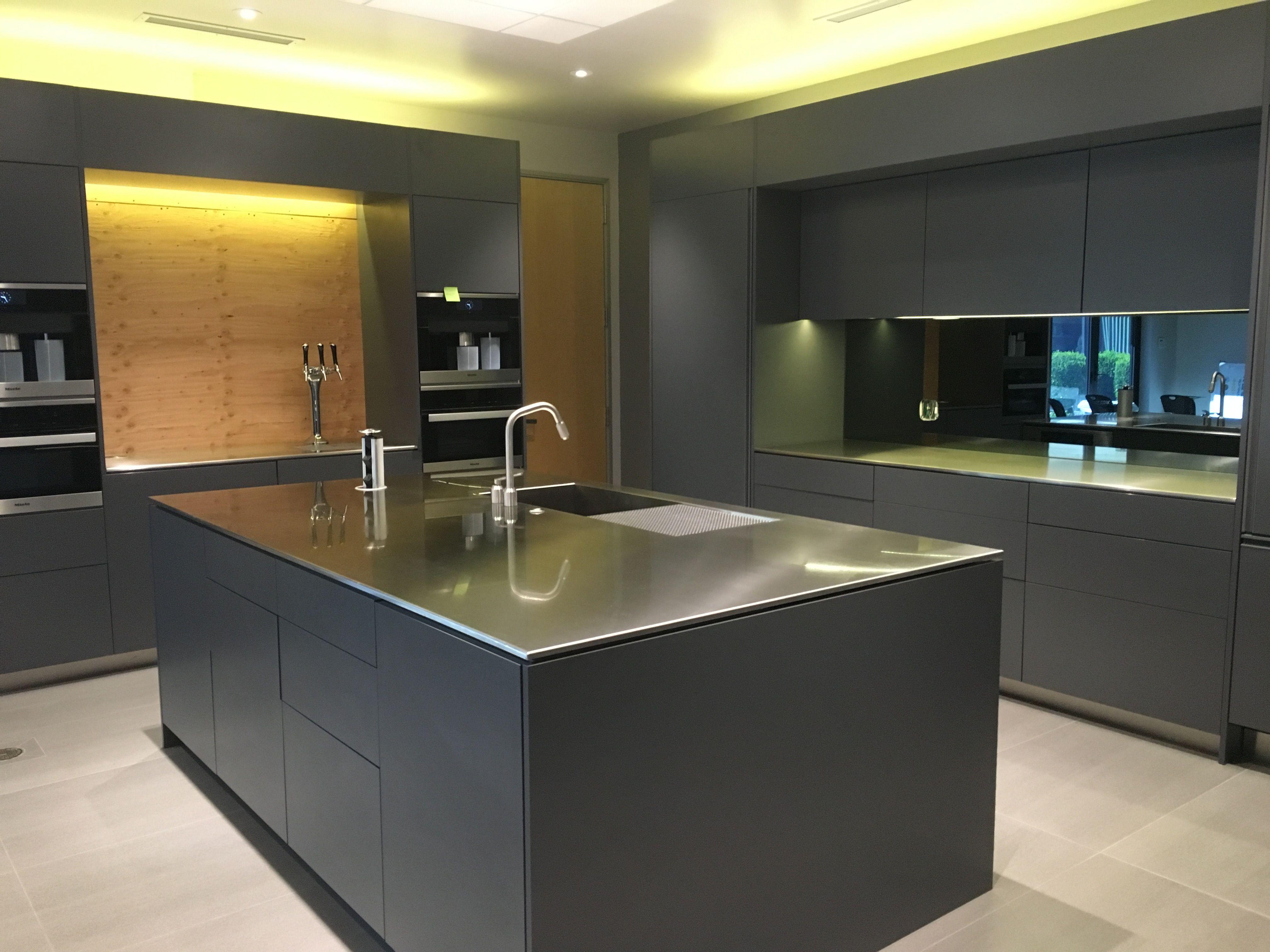 Office Kitchen Neo Metro Custom Stainless Steel Office Kitchen Island Is 96 X