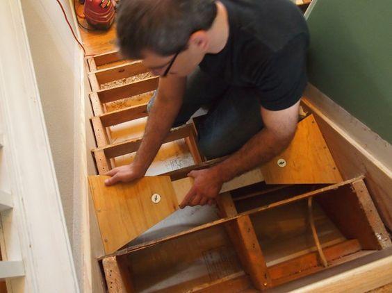 Best Diy Your Own Stair Tread Gauge In 2019 Replacing Stair 400 x 300