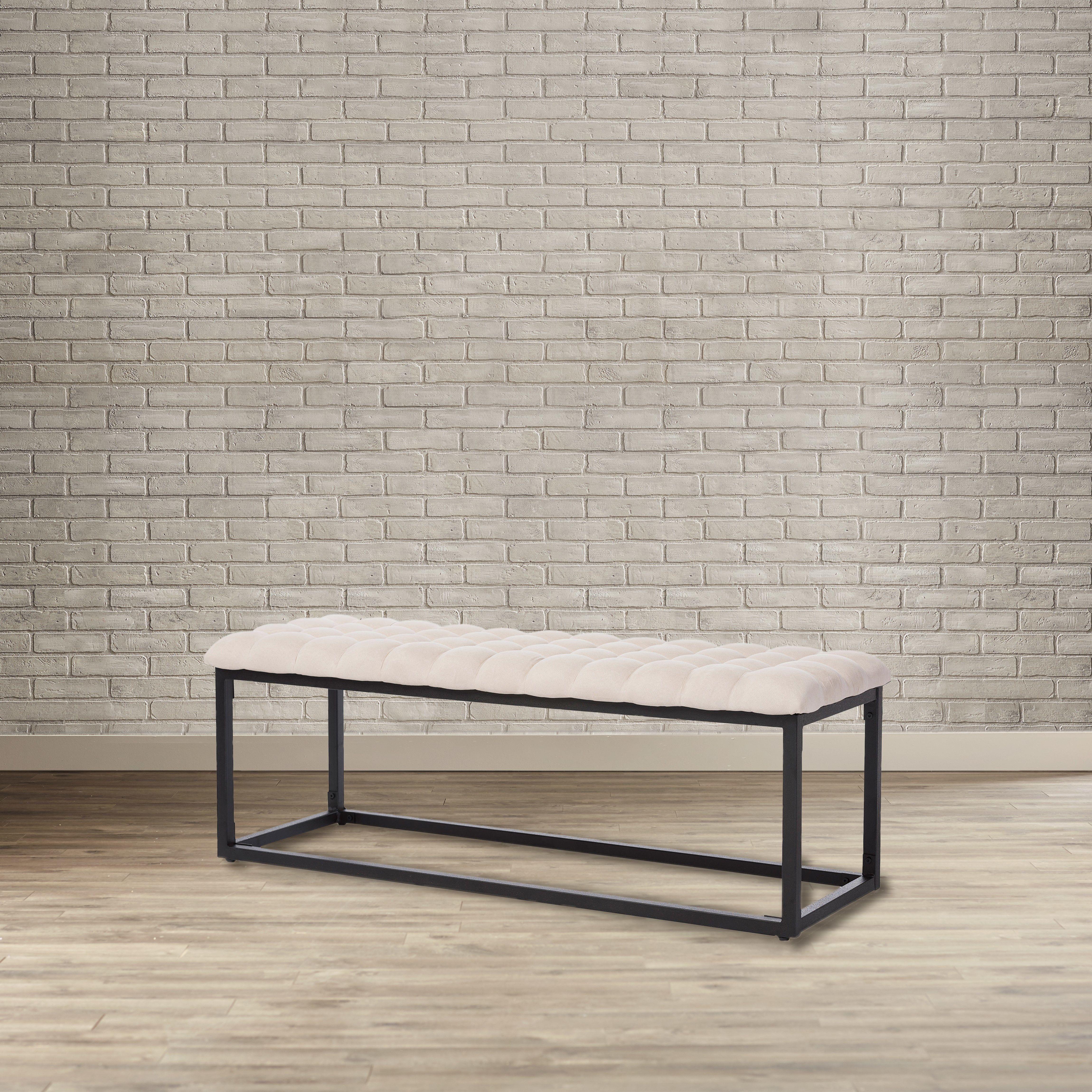 Metal Bedroom Bench - Home Design