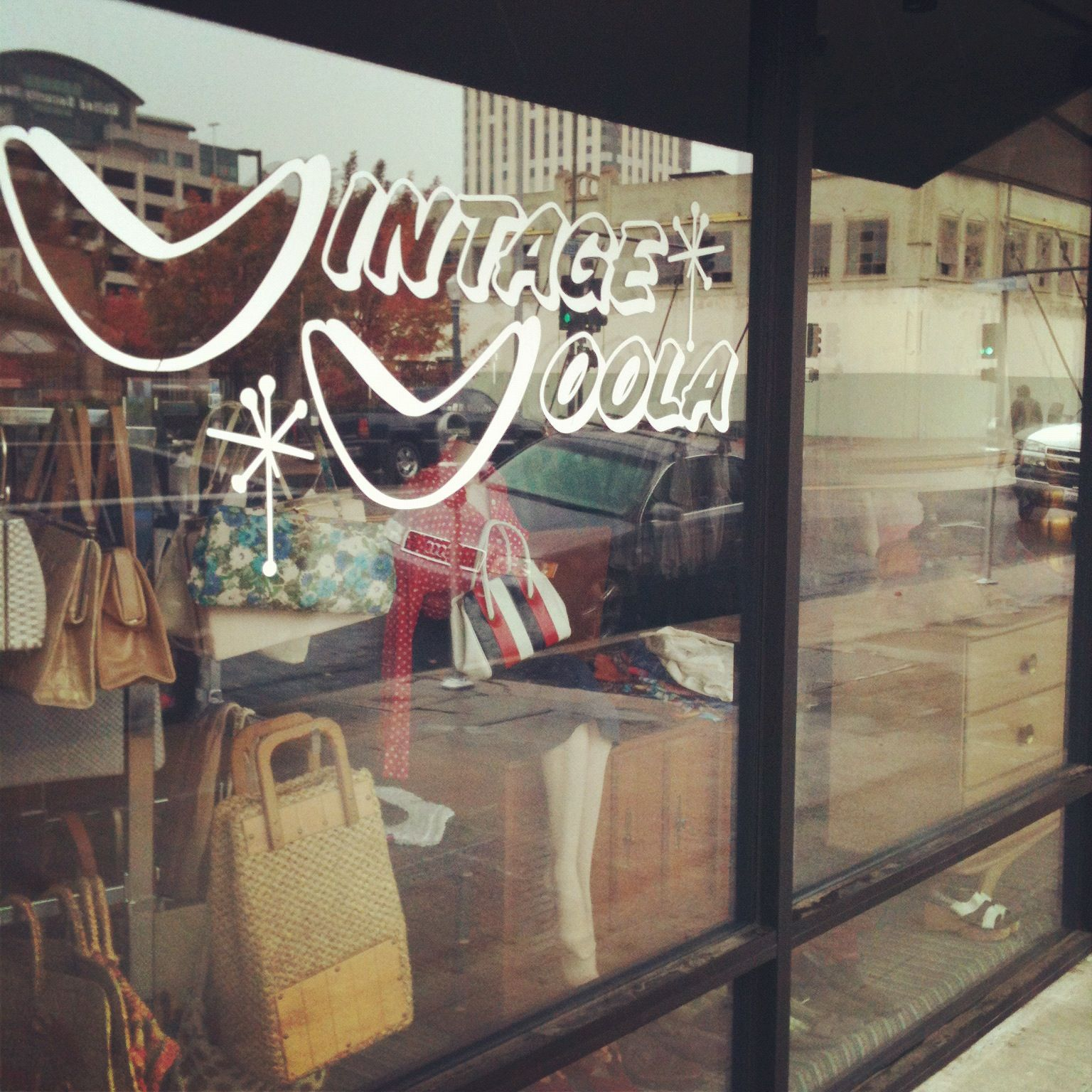 Vintage Voola Vintage Clothing Store Located On The Corner Of