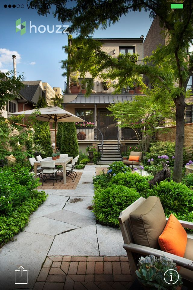 Small backyard, maximized | Small backyard landscaping ...